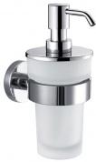 Подробнее о Дозатор для мыла Decor Walther Basic 0530800 BA WSP подвесной хром / стекло матовое