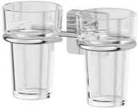 Подробнее о Держатель двух стаканов Ellux Avantgarde AVA 007 хром