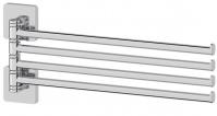Подробнее о Полотенцедержатель Ellux Avantgarde AVA 018 четверной длина 37,2 см хром