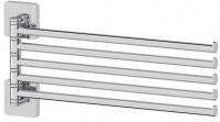 Подробнее о Полотенцедержатель Ellux Avantgarde AVA 019 пятерной длина 37,2 см хром