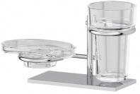 Подробнее о Держатель мыльницы/ стакана Ellux Domino DOM 004 левый хром