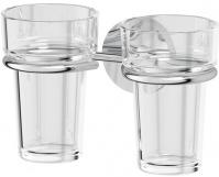 Подробнее о Держатель двух стаканов Ellux Elegance ELE 007 хром