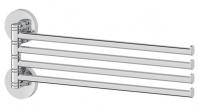 Подробнее о Полотенцедержатель Ellux Elegance ELE 018 четверной длина 37,3 см хром