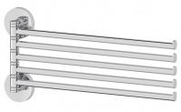 Подробнее о Полотенцедержатель Ellux Elegance ELE 019 пятерной длина 37,3 см хром