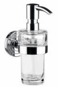 Подробнее о Дозатор для мыла Emco Polo 0721 001 01 настенный хром /стекло прозрачное