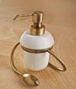 Подробнее о Дозатор мыла Etruska Retro 1177/D/55/CER настольный золото/керамика