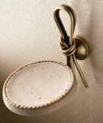 Подробнее о Мыльница Etruska Nodo 1852/63/TRA настенная бронза / травертино
