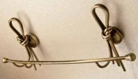 Подробнее о Полотенцедержатель Etruska Nodo 1858/63 одинарный длина 43 см бронза