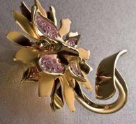 Подробнее о Крючок Etruska Papillon 4755/55/PERLA одинарный золото / белый