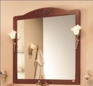 Подробнее о Зеркало Etruska Nodo S83.F04 настенное 116 х 115 см настенное в раме цвет белый матовый