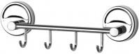 Подробнее о Крючок FBS Ellea ELL 025 на планке (4 шт хром