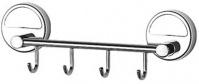 Подробнее о Крючок FBS Luxia LUX 025 на планке (4 шт хром