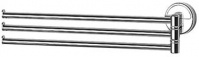 Подробнее о Полотенцедержатель FBS Luxia LUX 045 тройной поворотный длина 37,1 см цвет хром