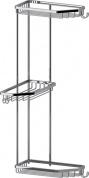 Подробнее о Полка FBS Ryna RYN 014 решетка развернутая 3 х уровневая хром