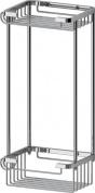 Подробнее о Полка FBS Ryna RYN 017 решетка прямоугольная 2 х уровневая хром