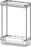 Подробнее о Полка FBS Ryna RYN 020 решетка прямоугольная 2 х уровневая хром
