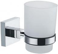 Подробнее о Стакан Fixsen Metra FX-11106 подвесной хром/стекло матовое