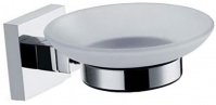 Подробнее о Мыльница Fixsen Metra FX-11108 подвесная хром/стекло матовое