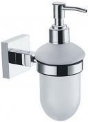 Подробнее о Дозатор для мыла Fixsen Metra FX-11112 подвесной хром/стекло матовое
