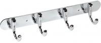 Подробнее о Вешалка с крючками Fixsen FX-1714 на планке (4 шт.) хром