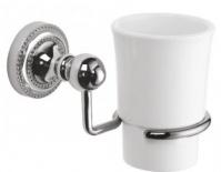 Подробнее о Стакан Fixsen Style FX-41106 подвесной хром/керамика белая