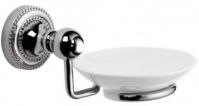 Подробнее о Мыльница Fixsen Style FX-41108 подвесная хром/керамика белая