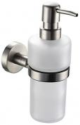 Подробнее о Дозатор для мыла Fixsen Modern FX-51512 подвесной хром/стекло матовое