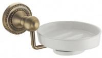 Подробнее о Мыльница Fixsen Antik FX-61108 подвесная бронза/керамика белая