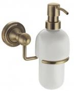 Подробнее о Дозатор для мыла Fixsen Antik FX-61112 подвесной бронза/керамика белая