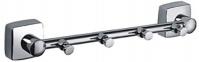 Подробнее о Вешалка с крючками Fixsen Kvadro  FX-61305-4 на планке (4 шт.) хром