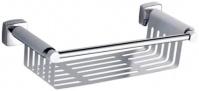 Подробнее о Полка-решетка Fixsen Kvadro FX-61323 прямая 34 х h6,5 см хром
