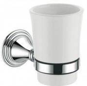 Подробнее о Стакан Fixsen Best FX-71606 подвесной хром/керамика белая