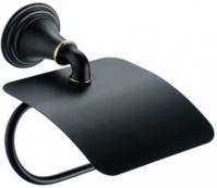 Подробнее о Бумагодержатель Fixsen Luksor FX-71610B закрытый цвет черный