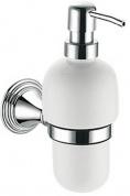 Подробнее о Дозатор для мыла Fixsen Best FX-71612 подвесной хром/керамика белая