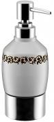 Подробнее о Дозатор для мыла Fixsen Bogema FX-782 настольный хром/керамика белая