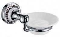 Подробнее о Мыльница Fixsen Bogema FX-78508 подвесная хром/керамика белая