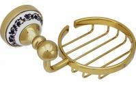 Подробнее о Мыльница- решетка Fixsen Bogema Gold FX-78509G подвесная золото