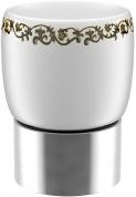 Подробнее о Стакан Fixsen Bogema FX-786 настольный хром/керамика белая