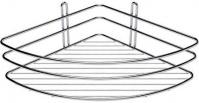 Подробнее о Полка-решетка Fixsen FX-850-1 угловая 20 х 20 см хром