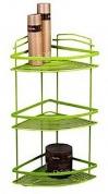Подробнее о Полка-решетка Fixsen FX-850G-3 угловая h52 см (3 яруса) цвет зеленый