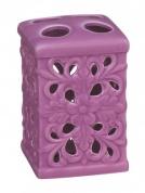 Подробнее о Стакан Fixsen Vety FX-A209-MP-2 настольный для зубных щеток цвет фиолетовый