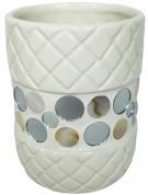 Подробнее о Стакан Fixsen Mazy FX-A235-D2-3 настольный цвет белый с декором