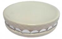 Подробнее о Мыльница Fixsen Mazy FX-A235-D2-4 настольная цвет белый с декором