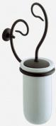 Подробнее о Ершик Globo Paestum PA042 для туалета металл ковка / керамика белая