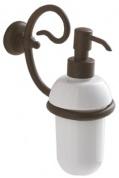 Подробнее о Дозатор для мыла Globo Paestum PA076 настенный металл ковка / керамика белая
