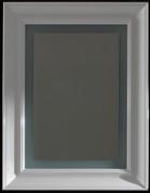 Подробнее о Зеркало Globo Relais  SP070 700 х h900 мм  с подсветкой рама белая