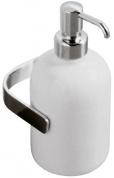 Подробнее о Дозатор для мыла Globo Universali UN040 настенный хром / керамика белая