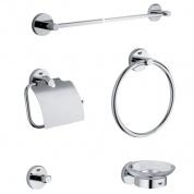 Подробнее о Набор аксессуаров Grohe Essentials 40344001 для ванны (5 предметов хром