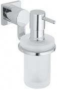 Подробнее о Дозатор жидкого мыла Grohe Allure 40363000 настенный хром /стекло матовое