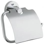 Подробнее о Бумагодержатель Grohe Essentials 40367000 закрытый хром